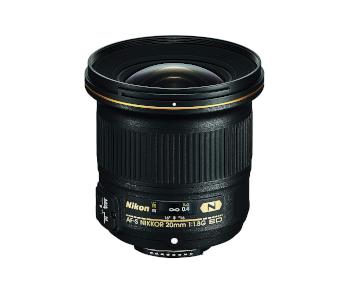 Nikon AF-S FX NIKKOR Fixed 20mm f/1.8G ED