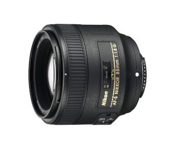 Nikon AF-S NIKKOR 85mm f/1.8G Fixed Lens