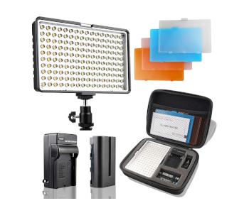 SAMTIAN 160 LED Video Photo Light Kit