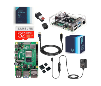 Vilros Raspberry Pi 4 4GB Complete Kit