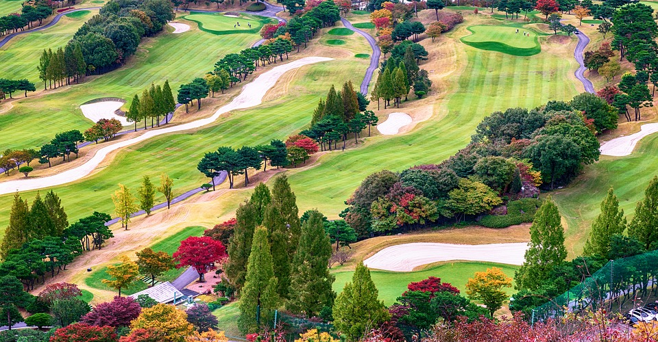How Drones are Used in Golf Courses