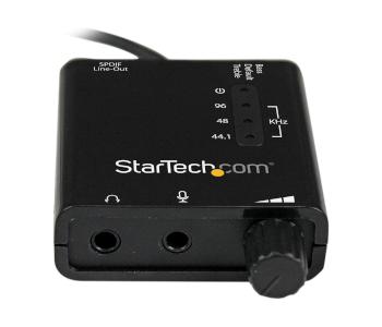 StarTech External Sound Card for Laptop or PC