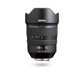 HD Pentax -D FA 15-30mm f/2.8 ED SDM WR