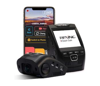 Rexing V1-4K Ultra-HD Car Dash Cam