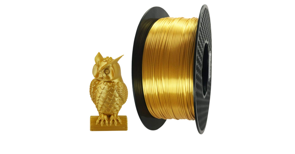 3D Printing with Gold Filament: Properties and How to Use