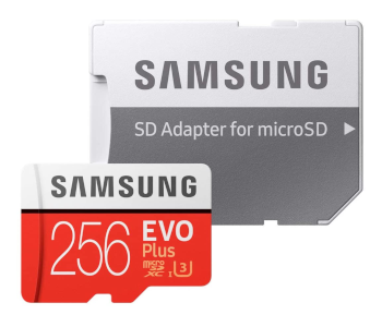 Samsung 256GB EVO Plus Class 10 MicroSDXC