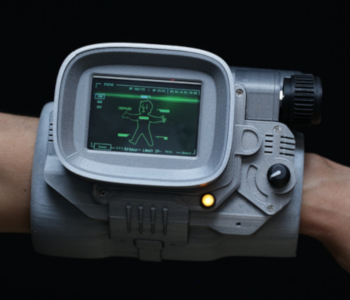 Pip-Boy Wearable Raspberry Pi Case