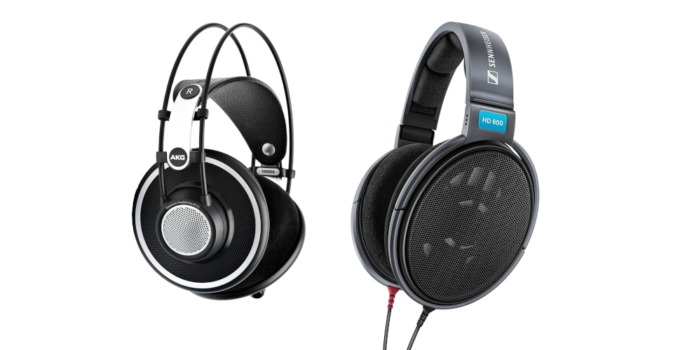 Headphones Comparison: Sennheiser HD 600 vs. AKG K702