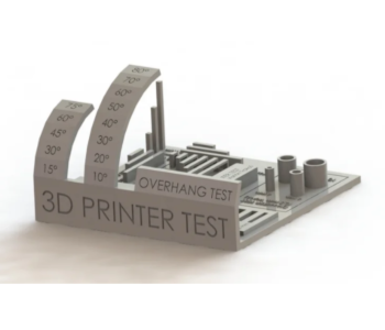 all-in-one 3D printer test model