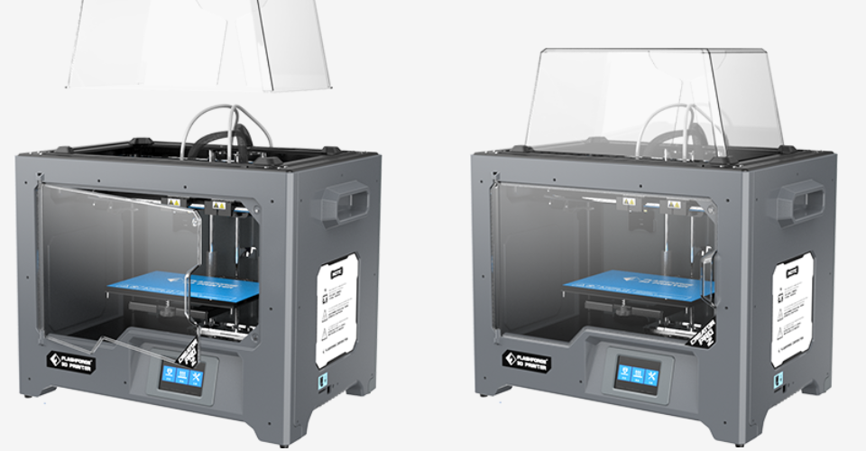 Affordable Dual Extrusion – A Review of the FlashForge Creator Pro 3D Printer