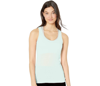 YDX Women's Workout Top with Laser Cut Back