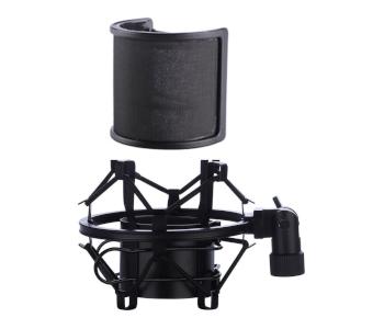 BTOOP Microphone Shock Mount with Pop Filter