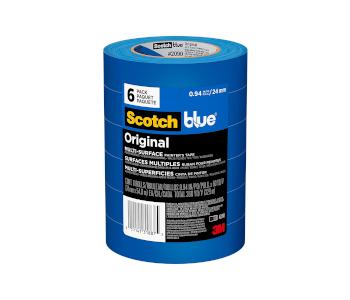 Blue painters' tape