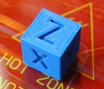 small calibration cube