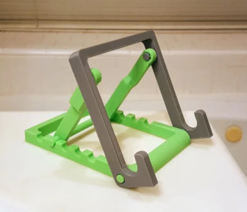 Adjustable phone and tablet stand