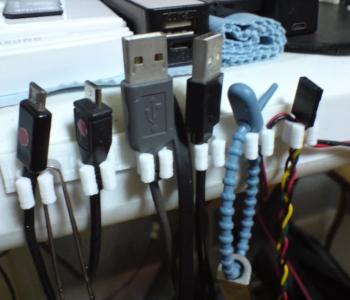 Cable management clip