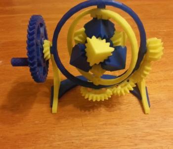 Gyroscopic gears