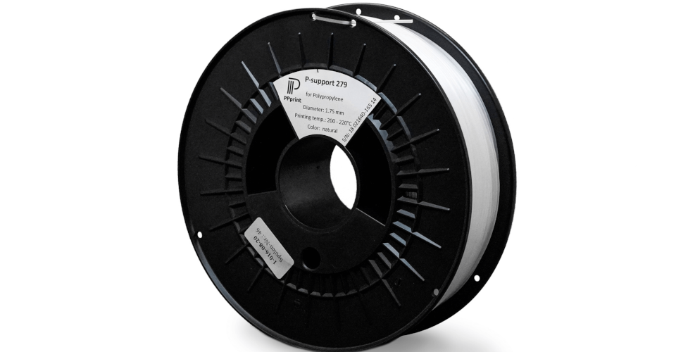 3D Printing with Polypropylene (PP) Made Easier With P-Support 279