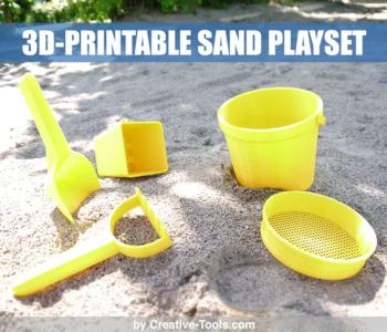 Sand playset