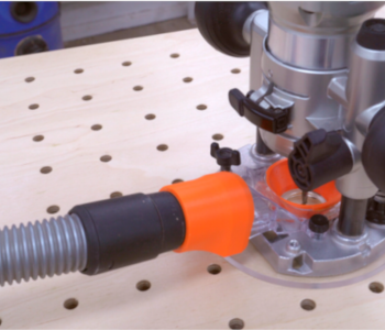 Dust collection adapters